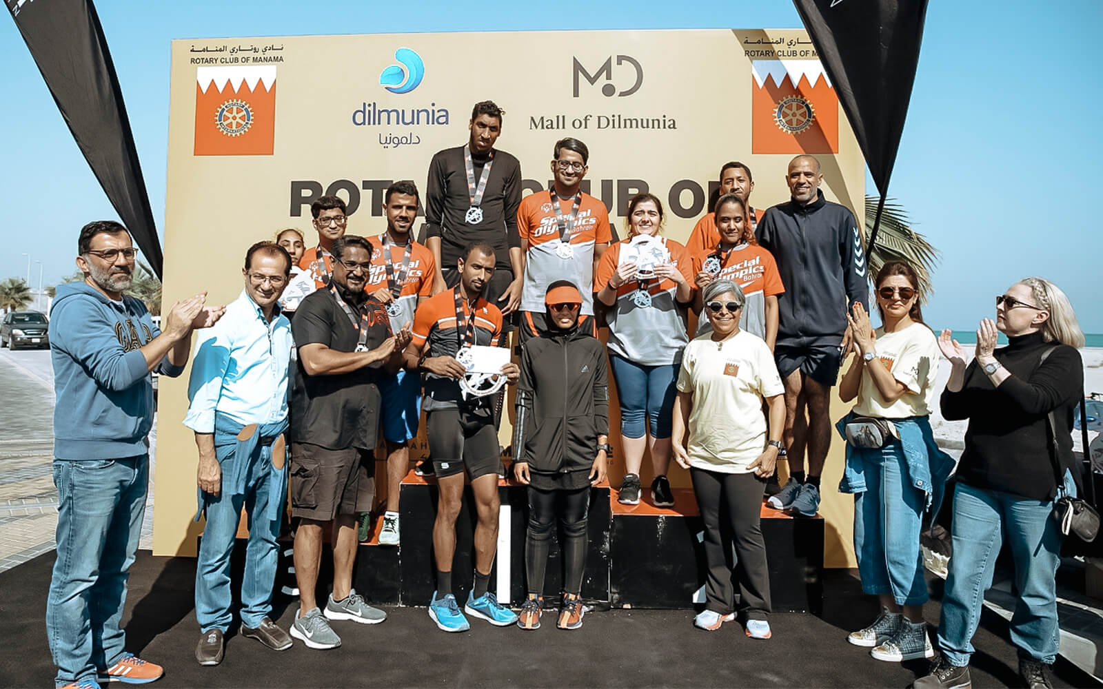 Mall of Dilmunia sponsors the Duathlon event at Dilmunia Island