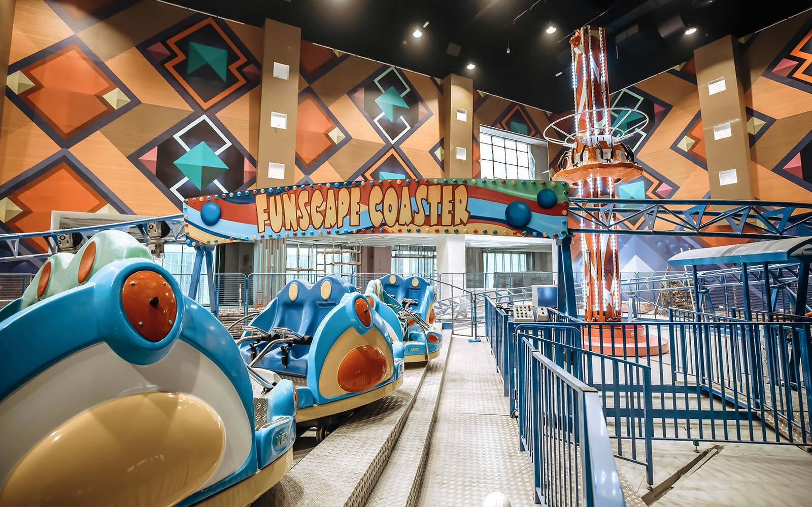 Mall of Dilmunia announces the final development stages of Funscape World