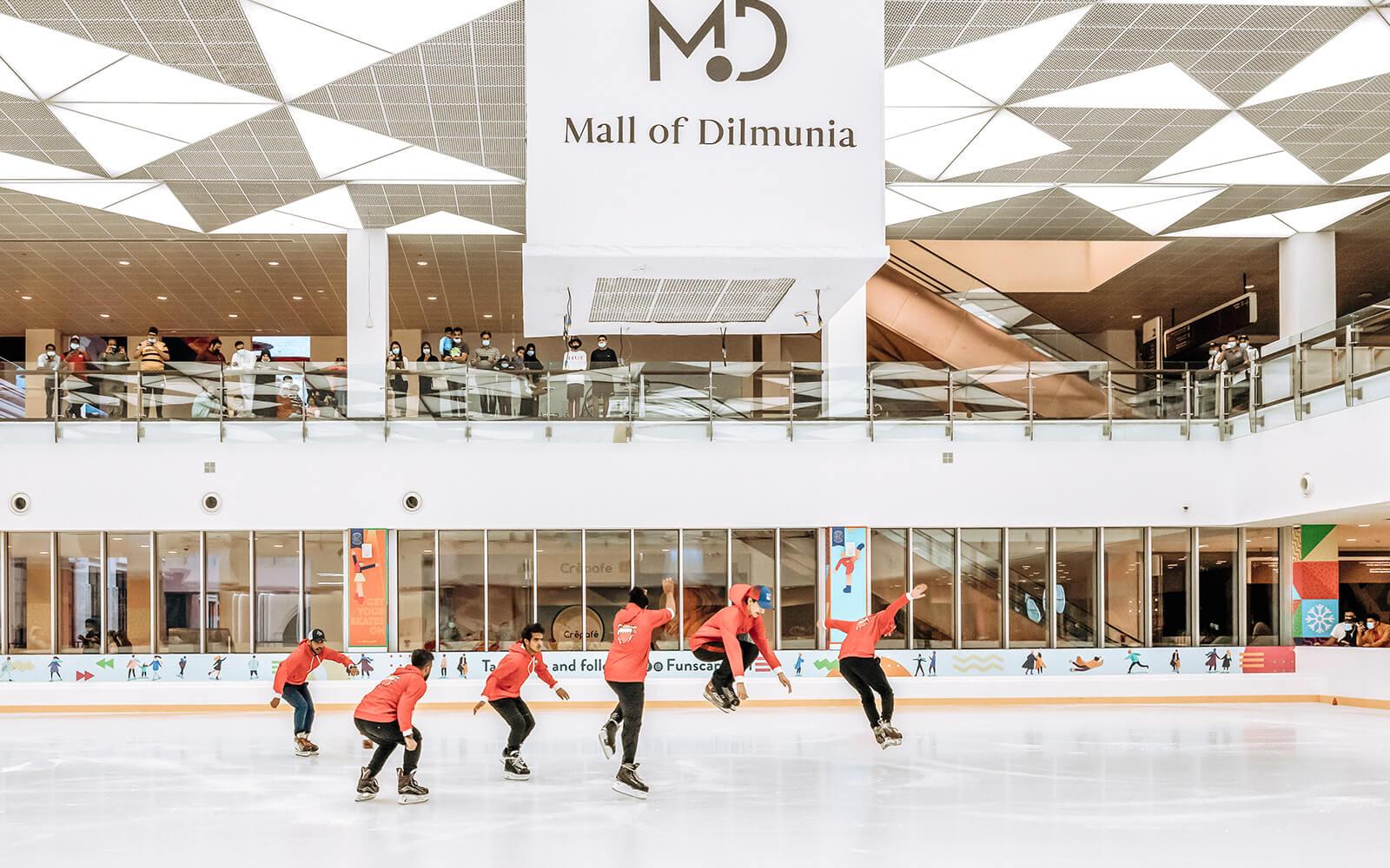 Mall of Dilmunia Turns On The Festive Spirit