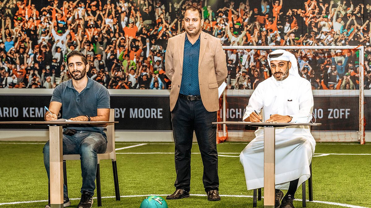 """Mall of Dilmunia Partners with Tekkers Academy and Malaeb app to Launch """"Funscape Sports"""""""
