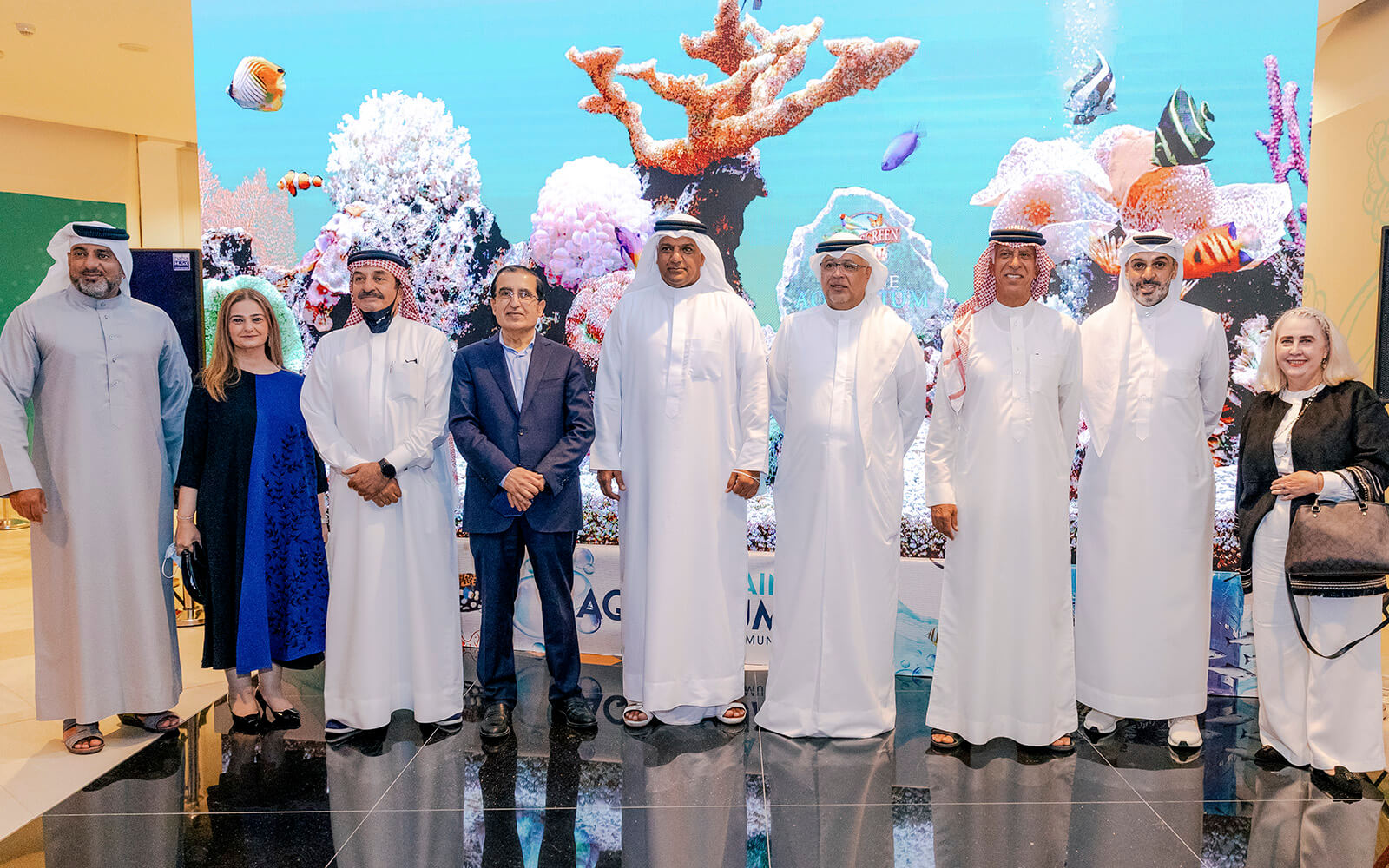 Read more about the article Opening of Bahrain Aquarium