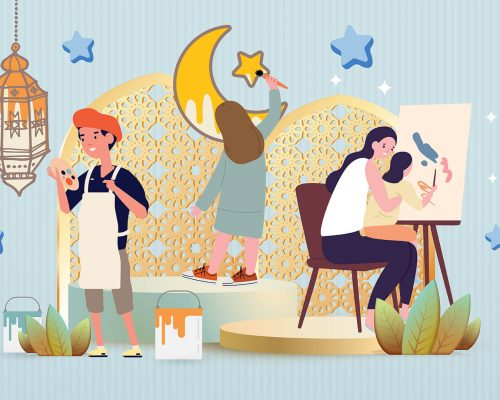 EID-Mubarak-2021-Kids Art - Banner